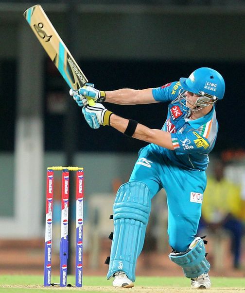 Steven Smith Hits A Reverse Sweep For A Six