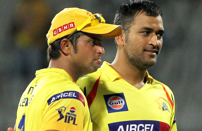 Once again Raina and skipper Dhoni was retained by CSK franchisee for IPL7