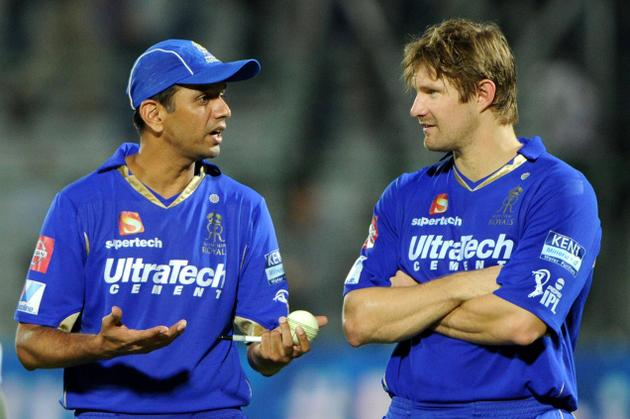 Shane Watson will take over from Rahul Dravid as new skipper of Royals in IPL7