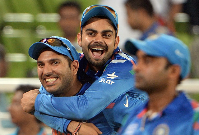@TheVijayMallya  'I have great faith in the opinion and leadership qualities  of' @imVkohli  & I'm glad that we got @YUVSTRONG12 for RCB @RCBTweets '
