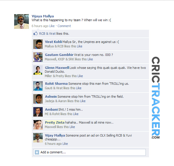 Gambhir has gained his touch time for Virat to get TROLLed