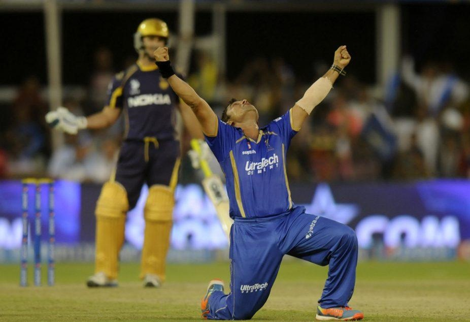 Pravin Tambe Bags First Hat Trick of IPL 2014