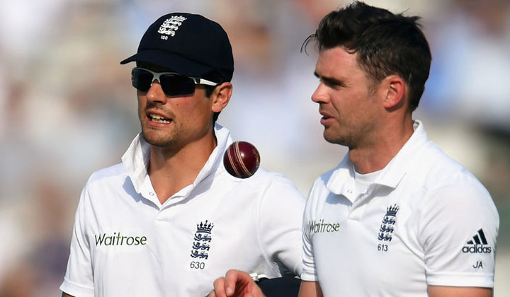 Cook calls Anderson a better bowler ahead of Steyn.(Photo Source : Sky Sports)