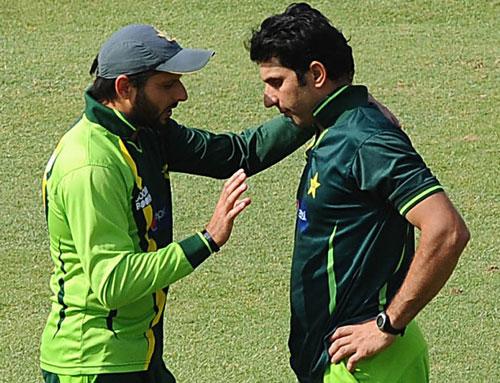 Shahid Afridi or Misbah-ul-Haq – Captain Kaun?. (Photo Source : AFP).