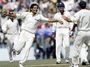 Irfan Pathan bowls unplayable yorker to Adam Gilchrist