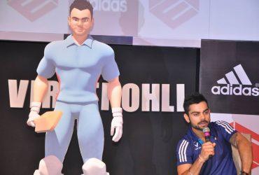 Virat Kohli during animated character launch