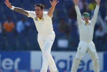 Mitchell Johnson Bowling