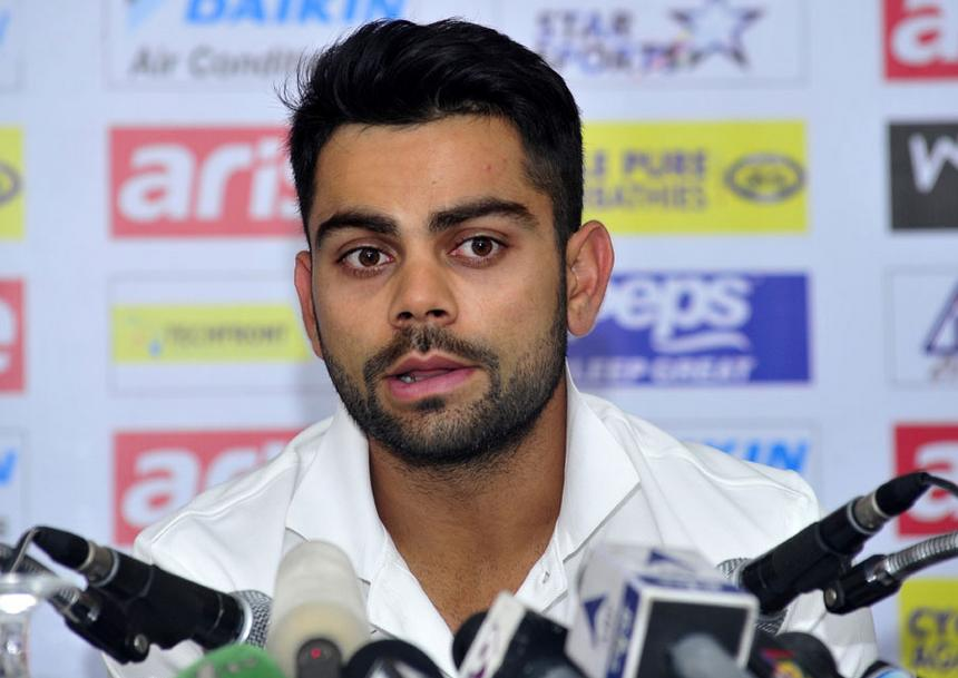 Captain Virat Kohli's interview before the Adelaide test ( Image Source : AFP )