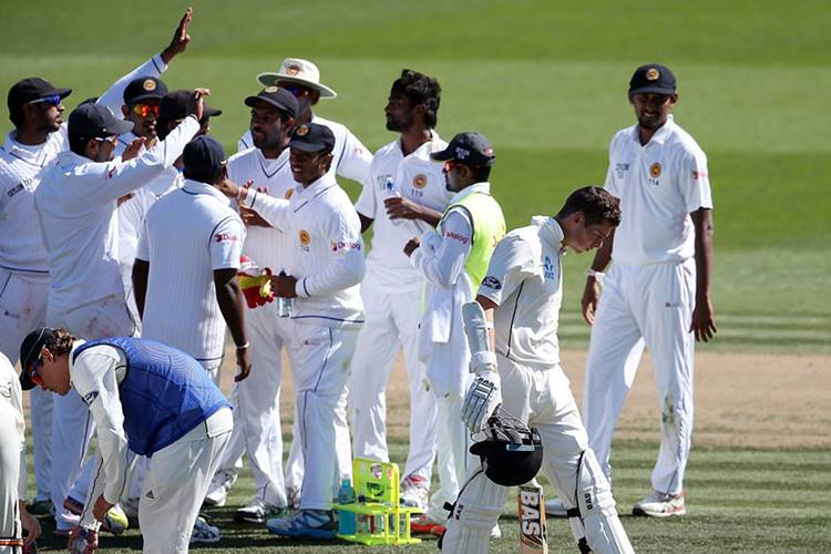 New Zealand v Sri Lanka 2nd Test