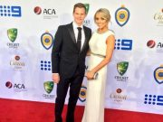 Steve Smith with his girlfriend