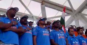 National Anthem together