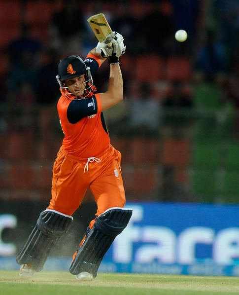 Netherland's wicket keeper Wesley Barresi holds the record for the highest score for the Netherlands. He scored 137* against Kenya. (Photo Source:ICC)