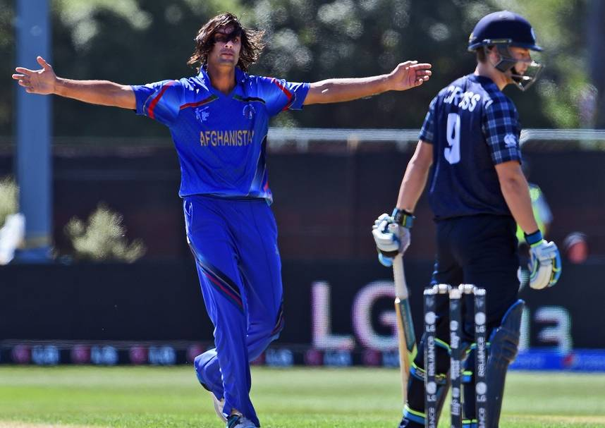 Afghanistan Won their first ever World Cup match against Scotland.  (Photo Source:AFP)