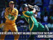 AB de Villiers the amazing cricketer