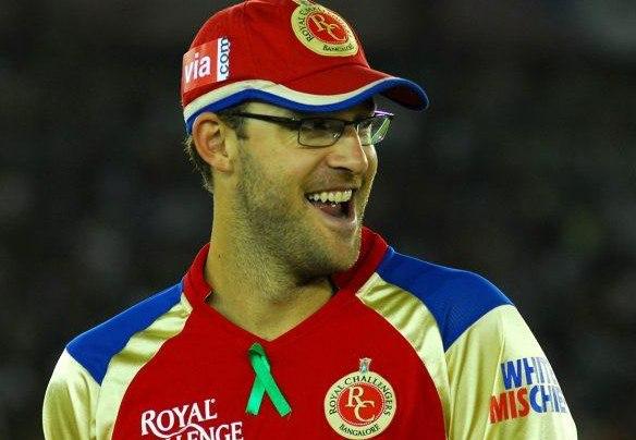 Daniel Vettori RCB. (Photo Source: Twitter)