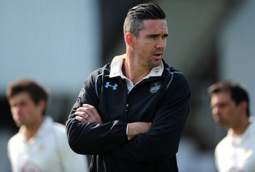 South African players Kevin Pietersen