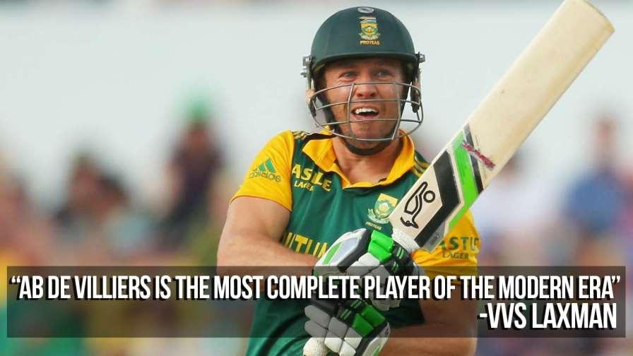 VVS Laxman(Ab de Villiers)