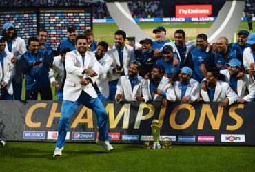 Team India Champions Trophy 2013 Celebration