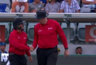 Umpire John Ward