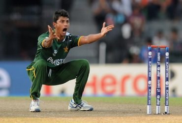 Pakistan spinner Raza Hasan