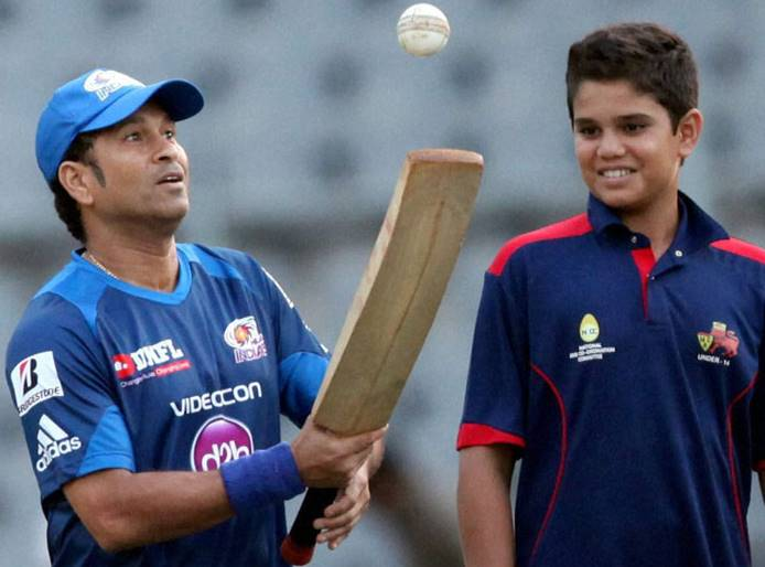 7 cricketers and their sons
