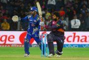Saurabh Tiwary vs Mumbai Indians