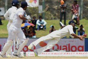 Ajinkya Rahane most catches in a Test match