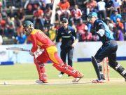 Zimbabwe v New Zealand 1st ODI