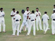 Kumar Sangakkara gets a Guard of Honour