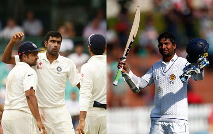 Kumar Sangakkara v R Ashwin
