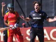 Zimbabwe v New Zealand 2nd ODI