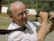 Sir Donald Bradman, Adelaide Oval December 1974-GettyImages-160638045