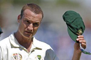 Australian bowler Stuart Clark