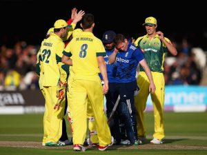 Australia won by 64 runs to take a 2-0 lead. (© Getty Images)