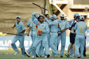 India were crowned World T20 champions in 2007