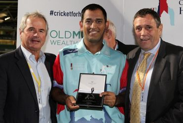 MS Dhoni Help for Heroes