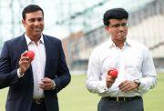 Sourav Ganguly and V.V.S.Laxman