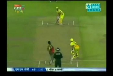 MS Dhoni smashed the fastest fifty in CLT20