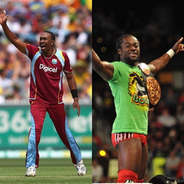 Dwayne Bravo Kofi Kingston