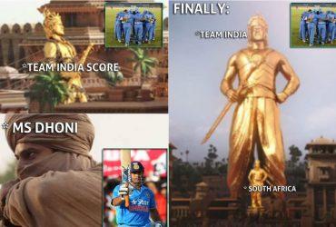 MS Dhoni Indore ODI Meme