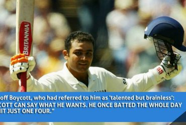 Quotes by Virender Sehwag