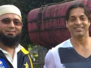 Saqlain Musthaq and Shoaib Akhtar
