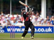 Somerset batsman Peter Trego