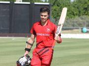 Highest individual scores on ODI debut