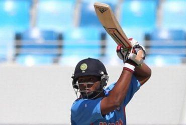 Indian players Sarfaraz Khan