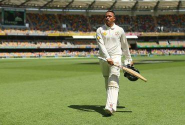 Usman Khawaja Aus v WI 2nd Test
