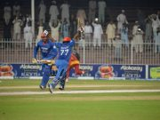 Afghanistan Wicket Keeper Mohammad Shahzad