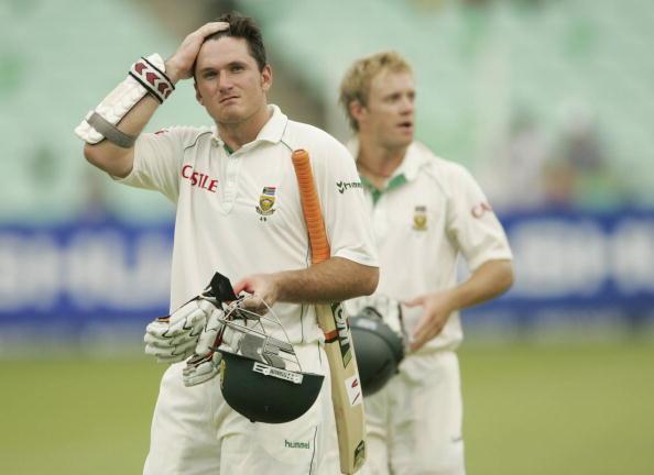 Graeme Smith and AB de Villiers