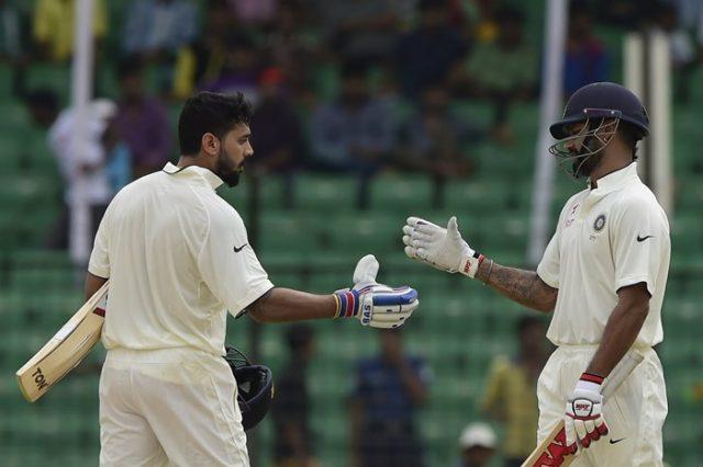 Murali Vijay and Shikhar Dhawan