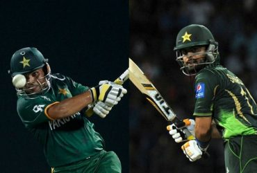 Ahmed Shehzad and Kamran Akmal